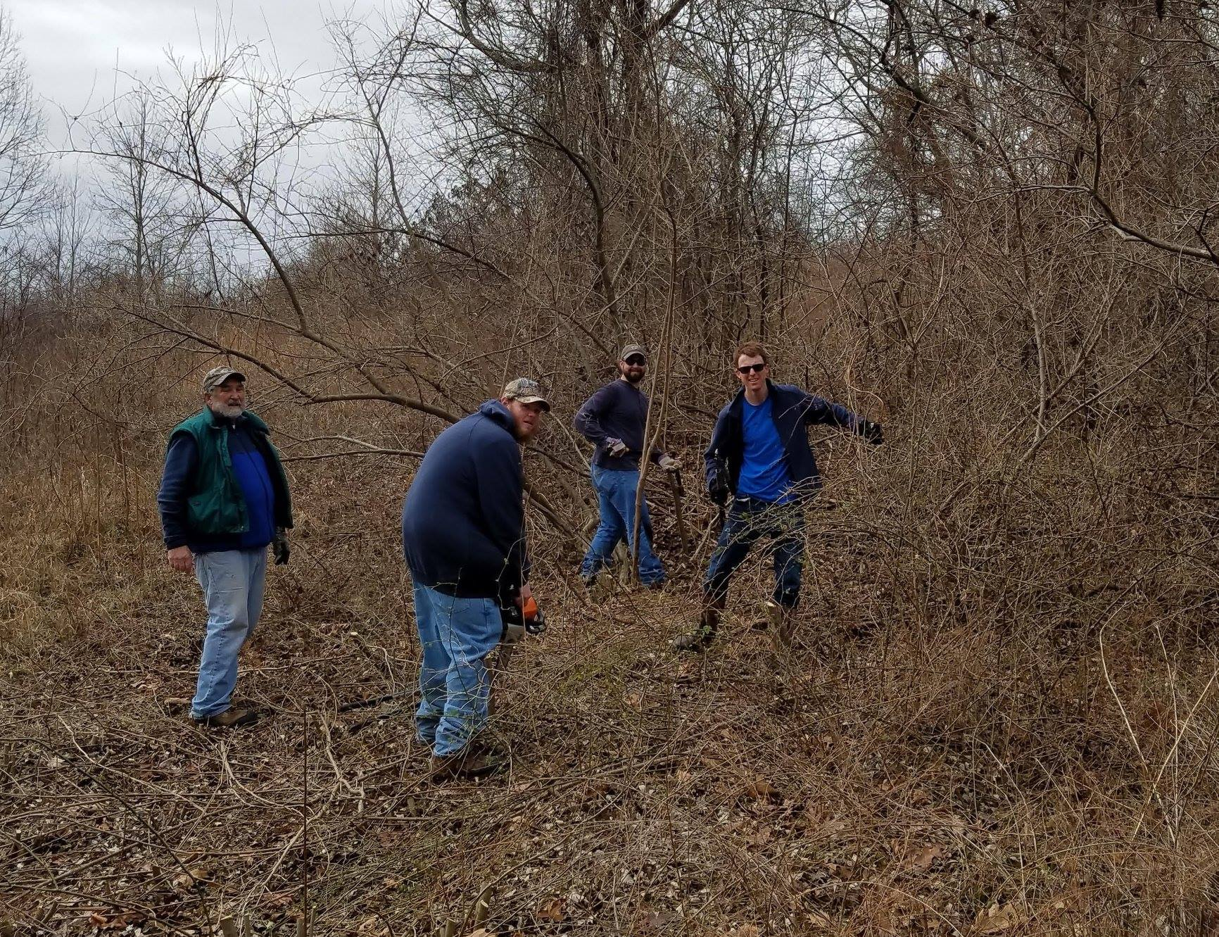 Invasive Species Control- Volunteer Day